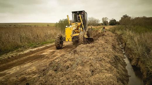 Vialidad proyecta nuevas trazas para caminos rurales que no se puedan recuperar