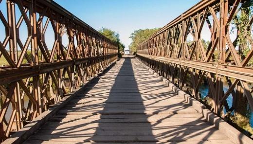 Se inicia la construcción de los puentes en Don Cristóbal 1º, departamento Nogoyá