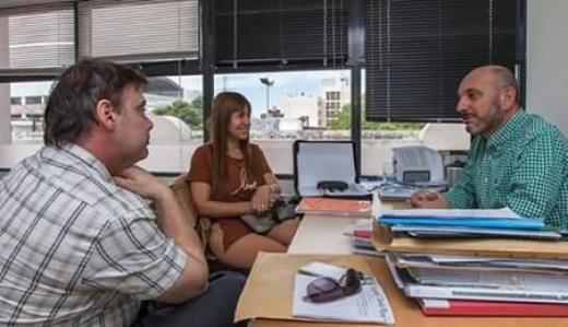 El Director del Hospital San Blas articula acciones con la provincia para mejorar el servicio