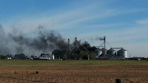 Tras el incendio de uno de sus silos, la empresa Coopar sufre grandes pérdidas