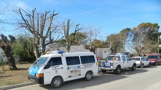 Accidentes de tránsito y hurtos, lo destacado en policiales de Nogoyá
