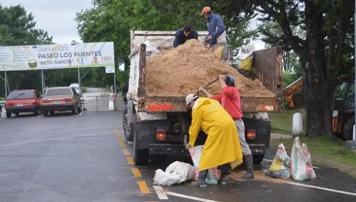 Lanzan diferentes colectas para ayudar a los damnificados por la lluvia