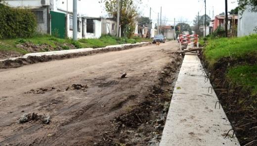 El municipio de Nogoyá lleva a cabo obras en diferentes puntos de la ciudad
