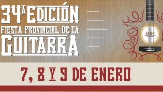 Confirmaron fecha de una nueva edición de la Fiesta Provincial de la Guitarra