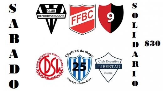Clubes de Nogoyá jugarán partidos amistosos por un fin solidario