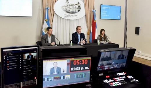 Bordet ratificó que el 1 de marzo comenzarán las clases presenciales en Entre Ríos