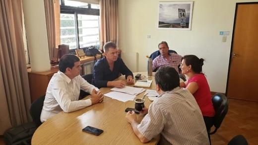 El Intendente Cavagna se reunió con Daniel Koch para articular acciones
