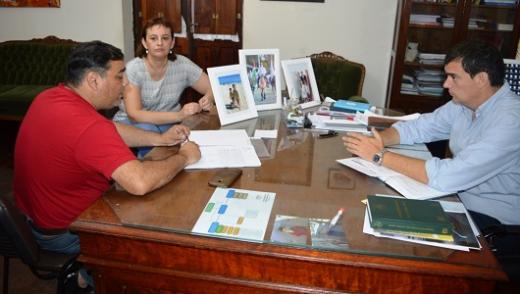 Cavagna recibió al titular del COPNAF y acordaron una agenda en común de trabajo