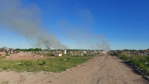 Realizan denuncia por quemas intencionales en el Volcadero Municipal de Nogoyá
