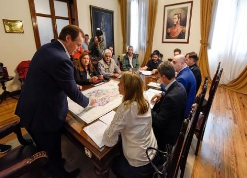 Bordet pidió a sus funcionarios monitoreo y contención para atender las consecuencias del temporal
